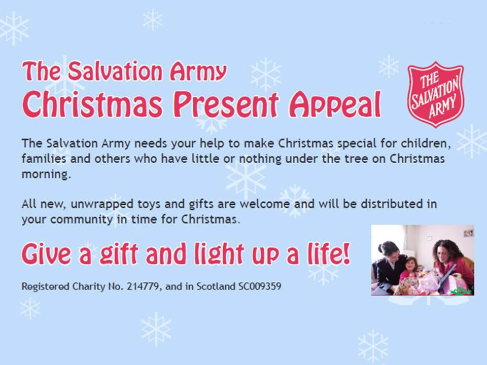 Christmas Toys and Tins Appeal